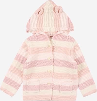 GAP Strickjacke in creme / rosa / pastellpink, Produktansicht
