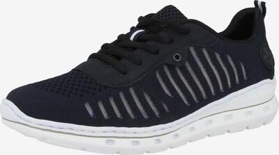 Sneaker low RIEKER pe albastru noapte / alb, Vizualizare produs