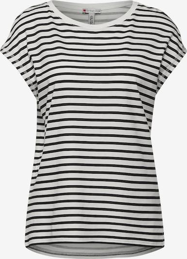 STREET ONE T-Krekls, krāsa - melns / balts, Preces skats
