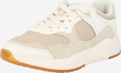 CAMEL ACTIVE Sneaker in beige / cappuccino / weiß, Produktansicht