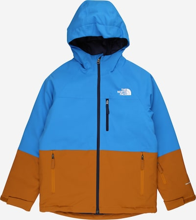 THE NORTH FACE Outdoorjas 'CHAKADO' in de kleur Lichtblauw / Cognac, Productweergave
