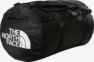 THE NORTH FACE Travel Bag 'BASE CAMP DUFFEL' in Black / White, Item view
