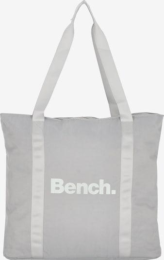 BENCH Shopper 'City Girls' in hellgrau / weiß, Produktansicht