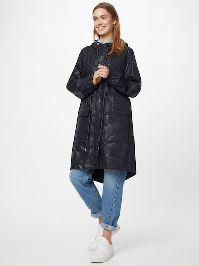 Demisezoninis paltas 'Pakono' iš BOSS , spalva - tamsiai mėlyna, Modelio vaizdas