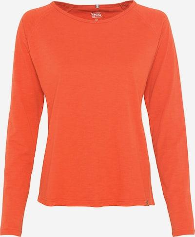 CAMEL ACTIVE Langarm Shirt aus Organic Cotton in orange, Produktansicht