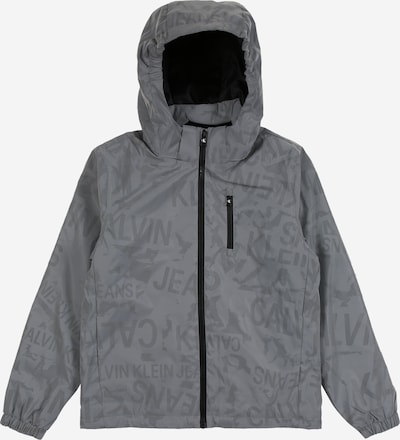 Calvin Klein Veste d'hiver en gris, Vue avec produit