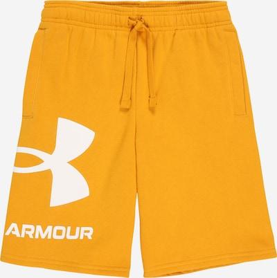 UNDER ARMOUR Sportovní kalhoty - žlutá / bílá, Produkt