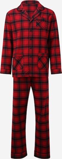 LeGer by Lena Gercke Garā pidžama 'Flynn' sarkans / melns, Preces skats