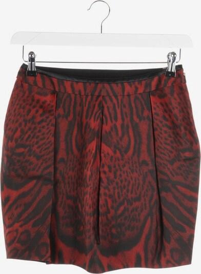 Just Cavalli Seidenrock in XS in rot / schwarz, Produktansicht