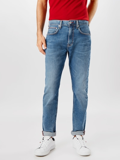 TOMMY HILFIGER Jeans 'HOUSTON' i blue denim, Modelvisning