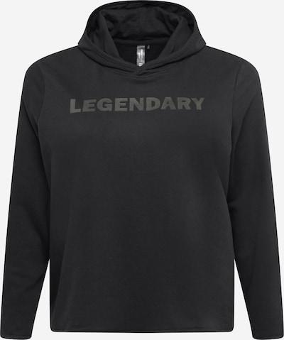 Only Play Curvy Sports sweatshirt 'FUD' in Dark grey / Black, Item view