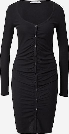 NA-KD Sukienka z dzianiny w kolorze czarnym, Podgląd produktu