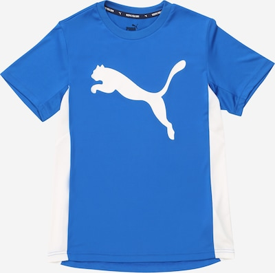 PUMA Shirt 'Active Sports Poly' in blau / weiß, Produktansicht