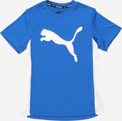PUMA Majica 'Active Sports Poly' u plava / bijela: Prednji pogled