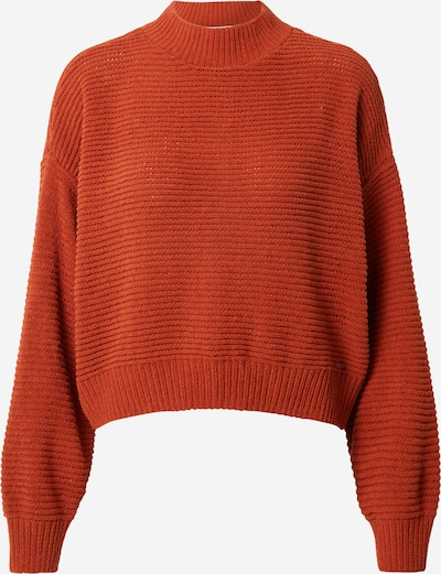 HOLLISTER Pullover 'CHENILLE M' in rostrot, Produktansicht