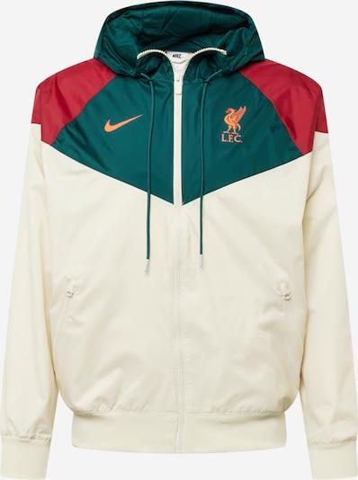 Geacă sport 'Liverpool FC' NIKE pe bej / verde smarald / roşu închis, Vizualizare produs
