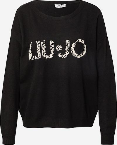 LIU JO JEANS Sweater in Black / White, Item view