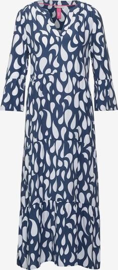 Rochie tip bluză STREET ONE pe albastru marin / alb, Vizualizare produs