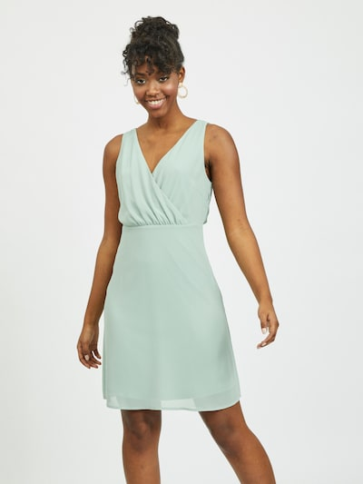 VILA Kleid in pastellgrün, Modelansicht