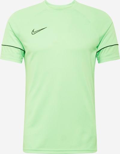 NIKE Toiminnallinen paita värissä vaaleanvihreä / musta, Tuotenäkymä