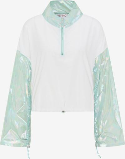 myMo ATHLSR Veste de sport en menthe / blanc, Vue avec produit