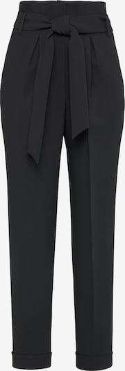 Usha Pantalon à pince en noir, Vue avec produit
