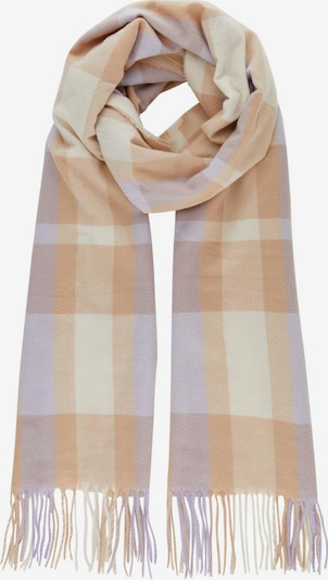 PIECES Scarf in Cream / Brown / Lilac, Item view