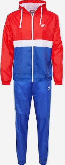 Trening Nike Sportswear pe albastru / roșu / alb, Vizualizare produs