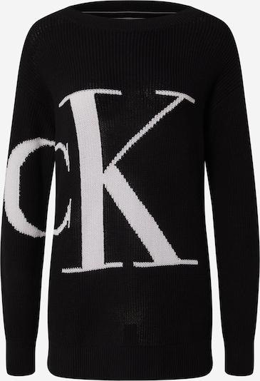 Calvin Klein Jeans Pullover i sort / hvid, Produktvisning