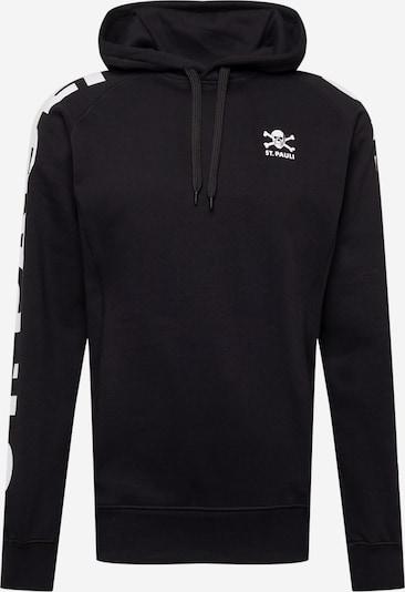 FC St. Pauli Sweatshirt in Black / White, Item view