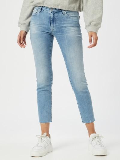 AG Jeans Jean 'Prima' en bleu denim, Vue avec modèle