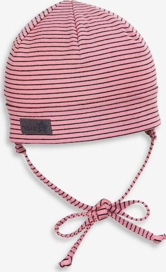STERNTALER Mütze in pitaya / schwarz, Produktansicht