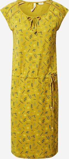 Ragwear Robe 'Tetuan' en jaune citron / mélange de couleurs, Vue avec produit