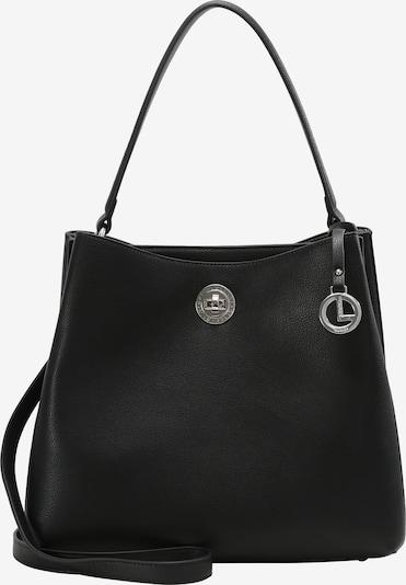 L.CREDI Hobo 'Filippa' in schwarz, Produktansicht