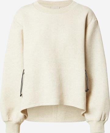 Varley Sportsweatshirt 'Bella' i beige