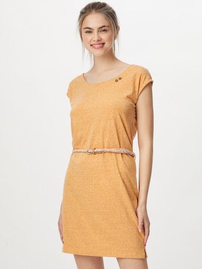Ragwear Robe 'SOFIA' en beige / jaune, Vue avec modèle