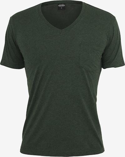Urban Classics Shirt in de kleur Olijfgroen: Vooraanzicht