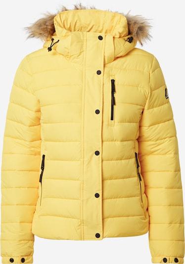 Superdry Jacke in beige / gelb / schwarz, Produktansicht