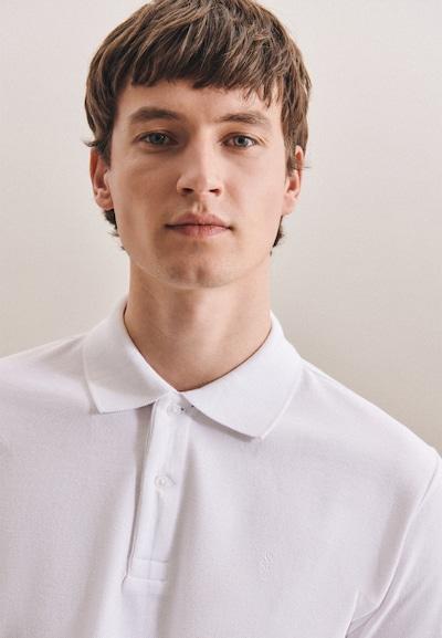 SEIDENSTICKER Shirt ' Slim ' in de kleur Wit, Productweergave