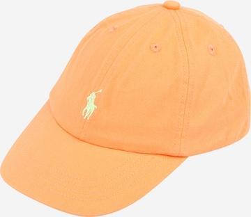 Polo Ralph Lauren Müts, värv oranž
