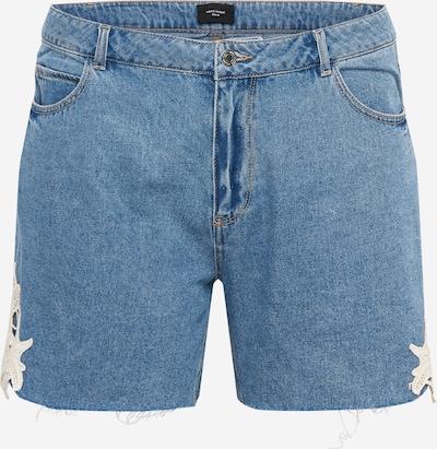 Jeans 'Nineteen' Vero Moda Curve pe albastru denim / alb, Vizualizare produs