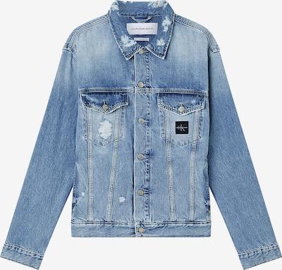 Calvin Klein Jeans Tussenjas in de kleur Blauw denim, Productweergave