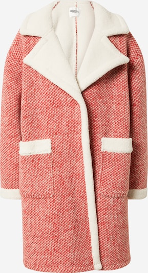 Palton de primăvară-toamnă 'Alida' Essentiel Antwerp pe roșu / alb, Vizualizare produs