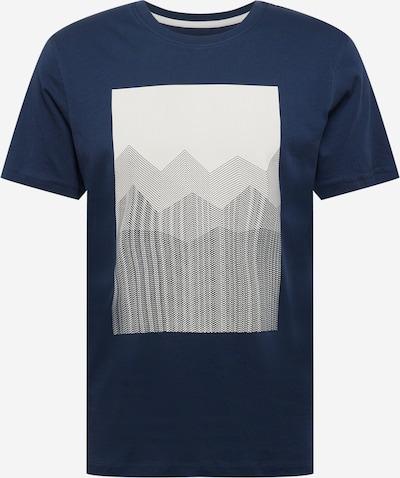 SELECTED HOMME Shirt 'MARCUS' in beige / navy / schwarz, Produktansicht