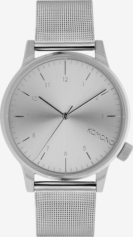Komono Analog Watch in Silver