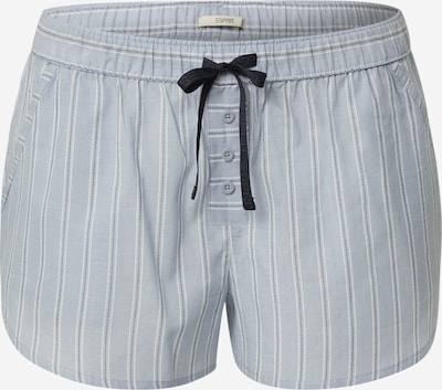 éjkék / világoskék / fehér ESPRIT Pizsama nadrágok 'DARIAH', Termék nézet