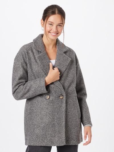 JDY Between-Seasons Coat 'VALDE' in Dark grey, View model
