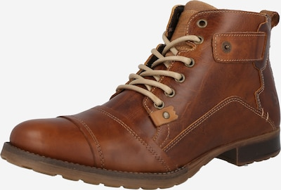BULLBOXER Lace-Up Boots in Cognac, Item view