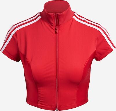 ADIDAS ORIGINALS Sweatvest in de kleur Rood / Wit, Productweergave