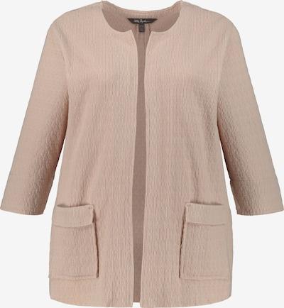 Ulla Popken Jacke in beige, Produktansicht